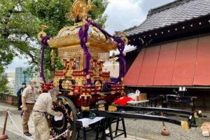 令和の大修復~麻布氷川神社の千貫神輿